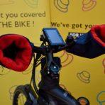 Hatsome verwarmde fietswanten € 99